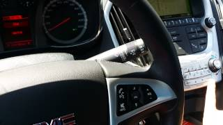 Switch from KPH to MPH in your Chevrolet Equinox