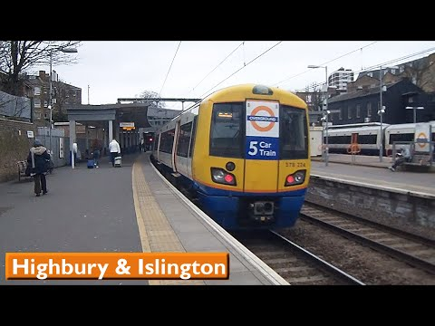 London Overground : Highbury & Islington | North & East London Lines ( British Rail Class 378 )