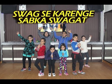 Swag Se Swagat Song Dance Steps For Kids | Choreography By Step2Step Dance Studio | 9888137158