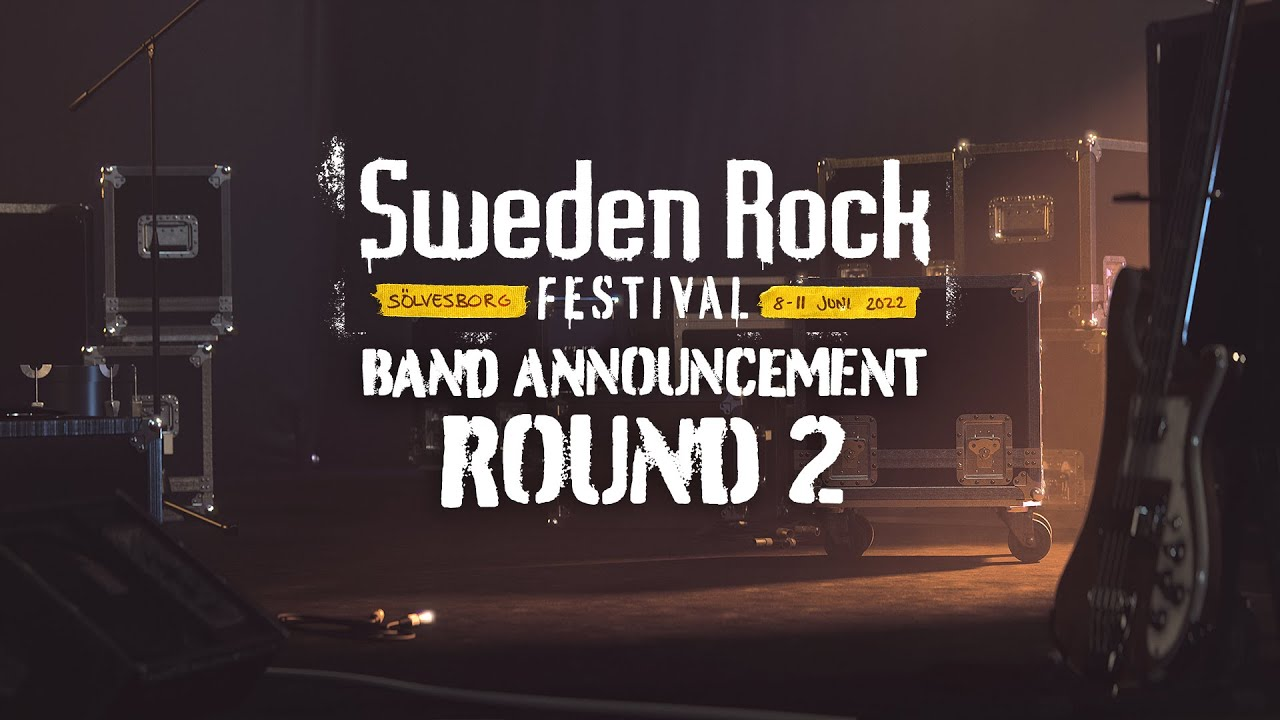 Sweden Rock 2022 Band Announcement