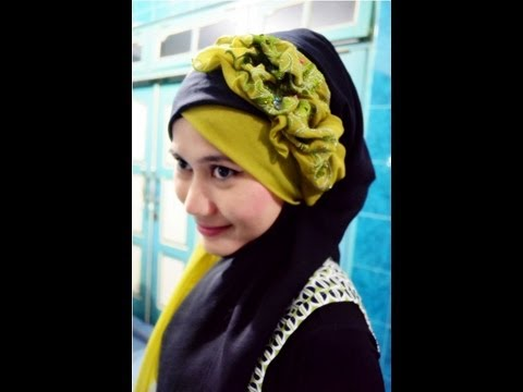 Tutorial Hijab Pesta dan Wisuda | Hijab Paris by Didowardah - Part #13