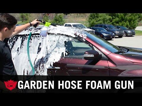 NEW! Garden Hose Foam Gun