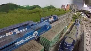 Conrail Railfaning on Ed Sanicky