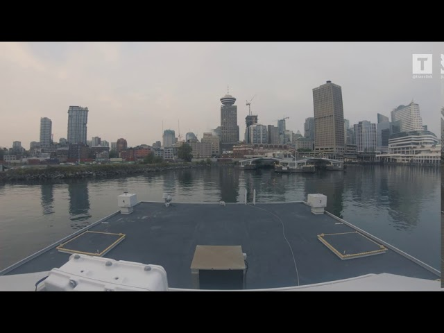 Real-time SeaBus ride from Lonsdale Quay to Waterfront and back Standard quality (480p)