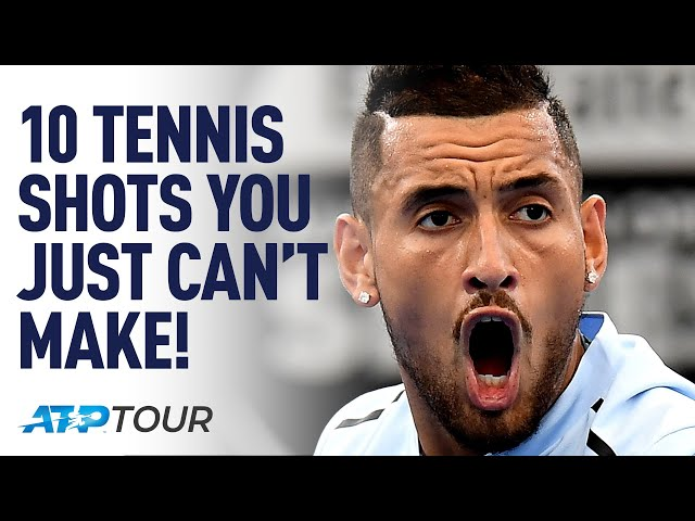 10 Weird, Wacky & Insanely Good Tennis Shots | ATP