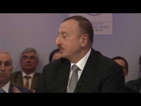 """President Ilham Aliyev: """"Now Azerbaijan has become a donor country"""""""