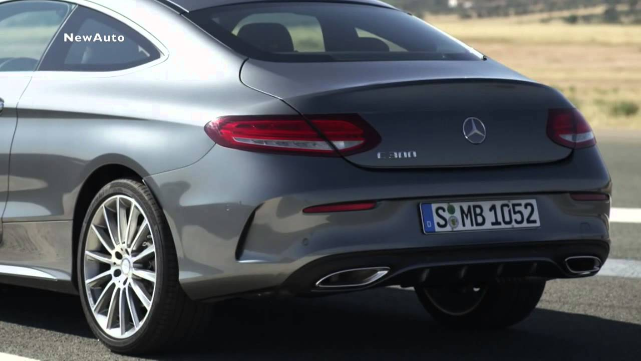 Mercedes Benz C Class Coupe 2016  YouTube
