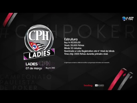 1ª Etapa CPH 2018 - Campeonato Paulista de Poker – CPH 500K - Dia Final