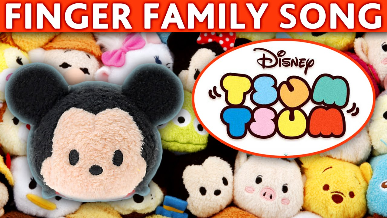 daddy finger song disney tsum tsum finger family disney sum sum nursery rhymes for children. Black Bedroom Furniture Sets. Home Design Ideas