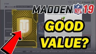 ARE GET A GOLD PACKS WORTH IT?? MUT 19 PACK OPENING