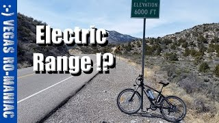 What is the Range of an Electric Bicycle - Full Throttle ANCHEER AKA Eshion Cyclamatic