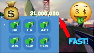 ROBLOX JAILBREAK HOW TO GET 1.000.000$ MONEY FAST [FASTEST WAY]+[FREE VIP]