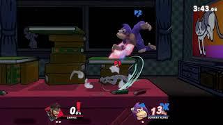 Smash Ultimate: Snake (OutcastAutumn) vs. Donkey Kong