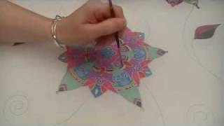 Silk Painting with Dye (Moroccan Summer Part 2)