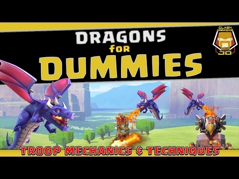 Clash of Clans: How to use the Dragons