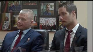 Expedition 50-51 Crew Meets Officials, Reporters as Launch Approaches