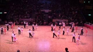 2012 10 21 WDSF 標準舞世界盃的聖公會仁立小學