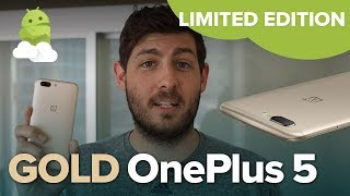 OnePlus 5 Limited Edition Soft Gold — hands-on