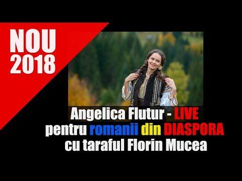Angelica Flutur - LIVE pentru romanii din DIASPORA cu taraful Florin Mucea