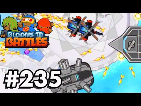 Bloons TD Battles Part 235 | NEW HOVERCRAFT TOWER! | | Brand New Buccaneer Tower Skin!