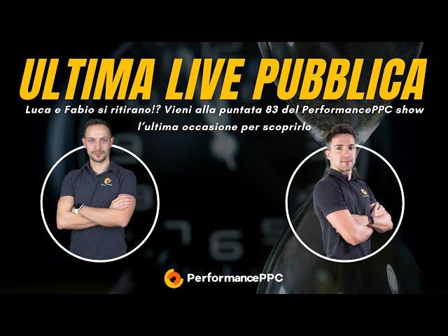 L'ultima live pubblica -  Luca e Fabio si ritirano?!