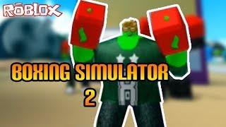 Opponent world class Boxer!! | Boxing Simulator 2 Roblox Indonesia