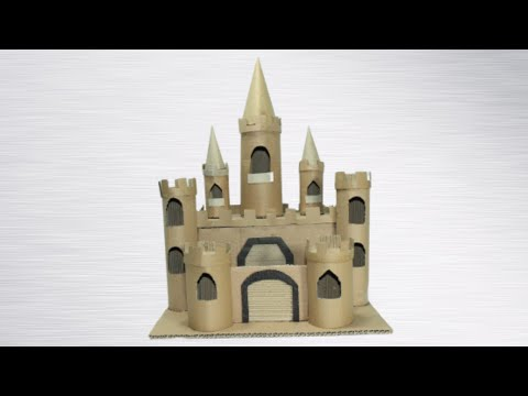 HOW TO MAKE A CARDBOARD STORY CASTLE | HOW TO MAKE A CASTLE USING CARDBOARD