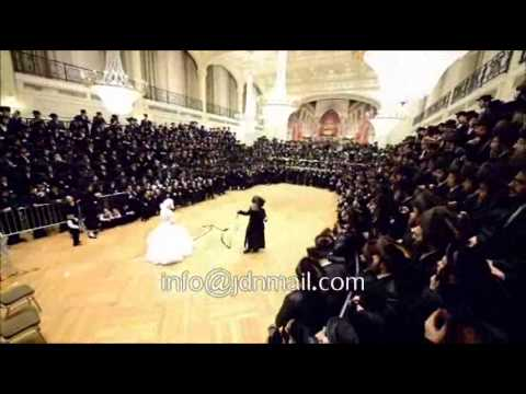 Toldos Tzvi Spinka - Shinava  Wedding - Adar 1 5774