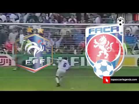 Greatest Penalties Euro 1996 France vs Czech Republic