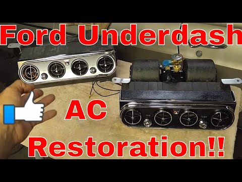 How To Get Your Ford Falcon Fairlane Galaxie Mustang Under Dash Ac Air Conditioning Restored