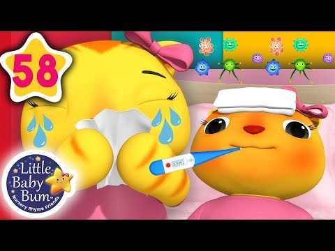 Sick Song | + More Nursery Rhymes & Kids Songs | Songs For Kids | Little Baby Bum