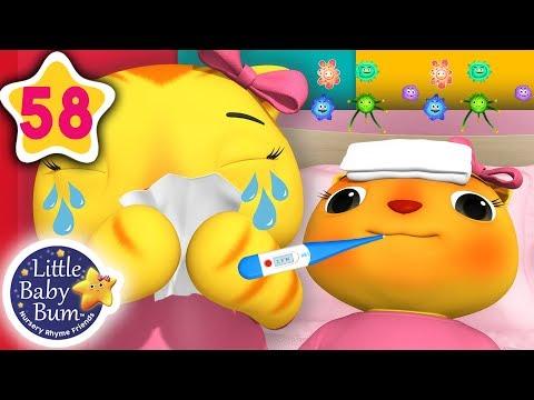 Sick Song | + More Nursery Rhymes & Kids Songs | Songs For Kids | Little Baby Bum