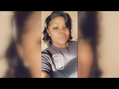 Rally, Vigil For Breonna Taylor In Downtown Louisville