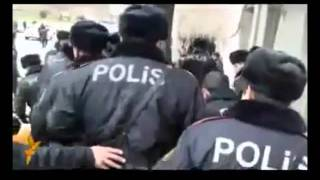Azeris Fight Against Police