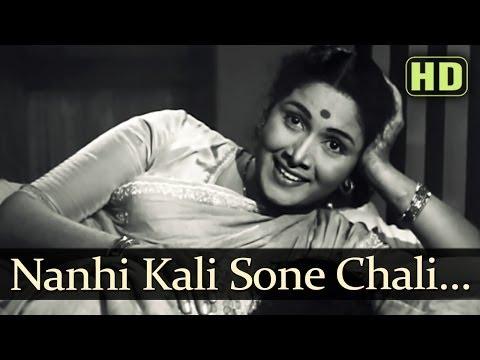 Nanhi Kali Sone Chali (HD) - Sujata Song - Sunil Dutt - Nutan - Geeta Dutt