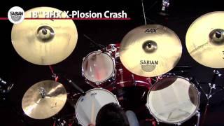 "SABIAN 18"" HHX X-Plosion Crash"