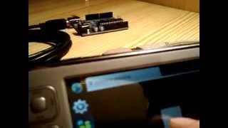 Arduino Duemilanove and Nokia N800