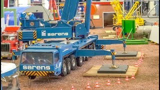 Fantastic realistic RC Trucks and heavy Equipment at work!