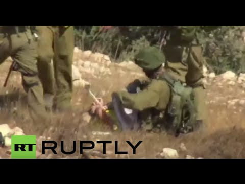 State of Palestine: Italian peace activist violently arrested by IDF