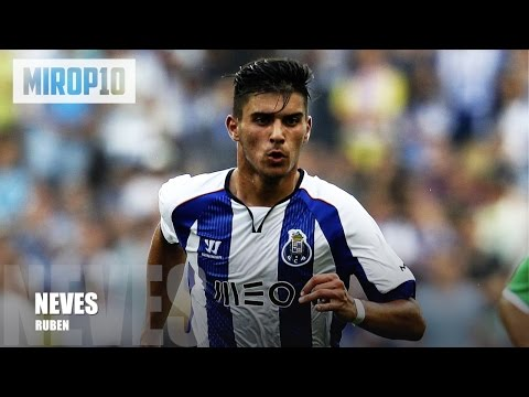 RUBEN NEVES ✭ PORTO ✭ THE NEW PAUL SHCOLES ✭ Skills & Goals 2016