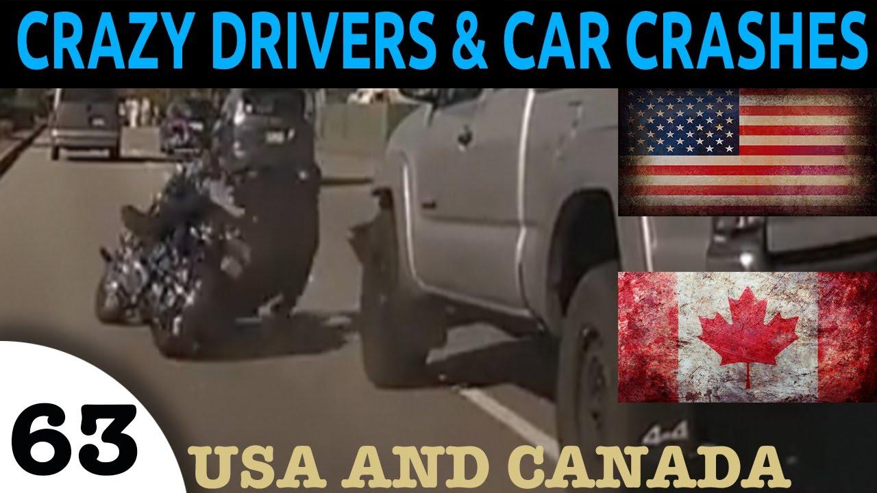 Download Car Crash Fails Compilation - North American Episode 63. Bad Drivers USA and CANADA