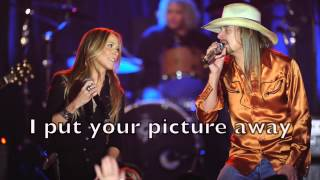 Kid Rock ft. Sheryl Crow - PIcture Karaoke Acoustic Guitar Instrumental Backing Track