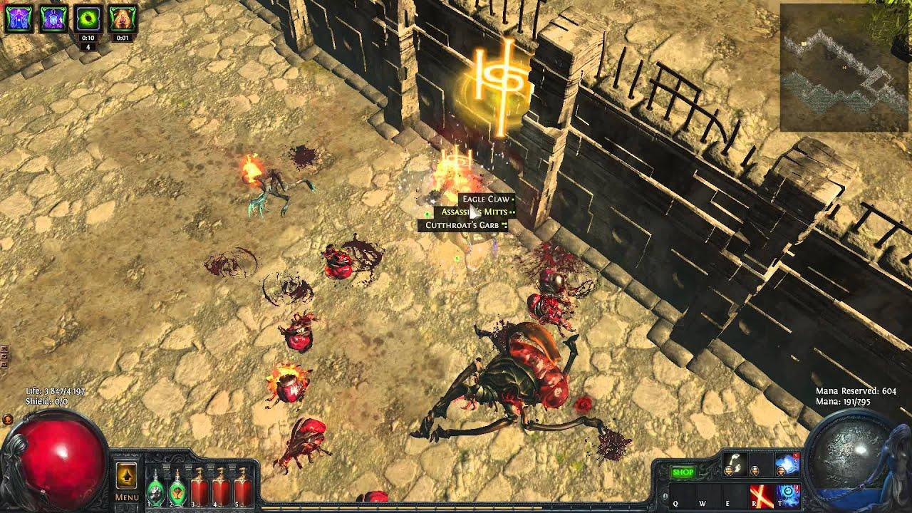 Oro S Sacrifice Flicker Strike Build