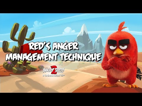 Angry Birds Movie 2 | Red's Anger Management | In Cinemas August 23