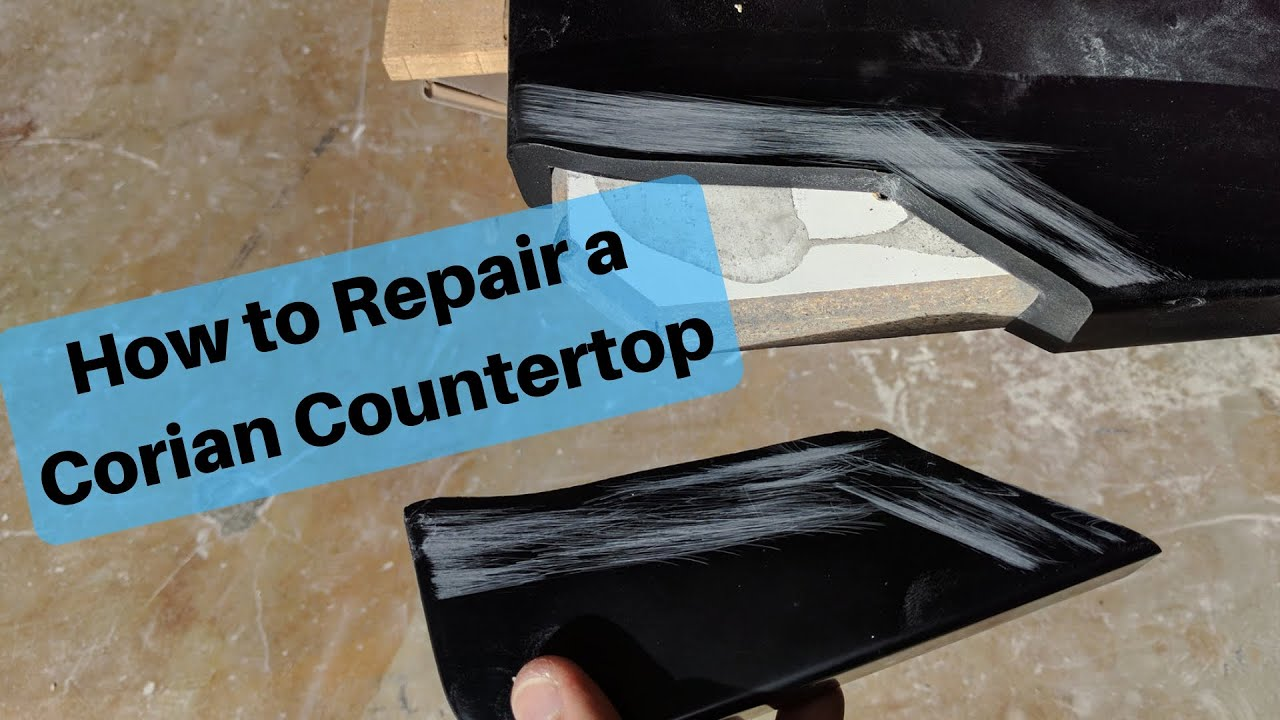 Fix A Broken Solid Surface Countertop