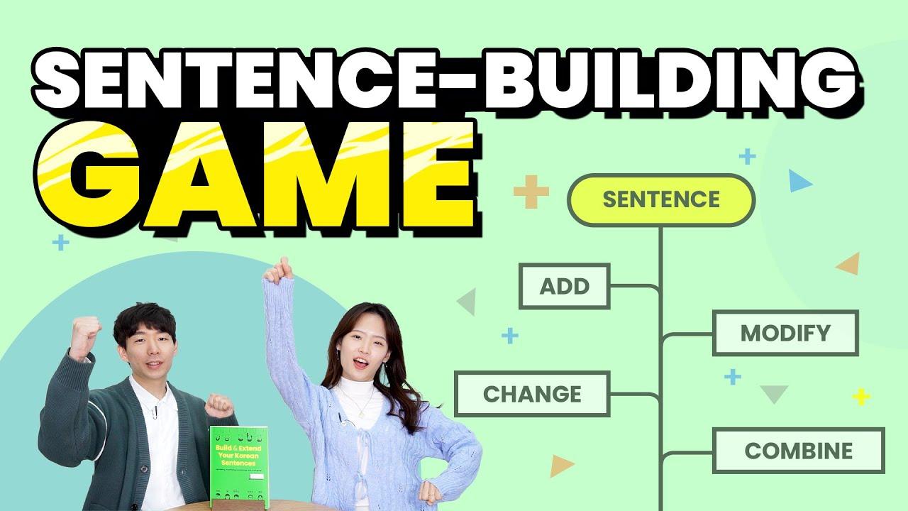 Korean teachers playing Sentence-Building Game!