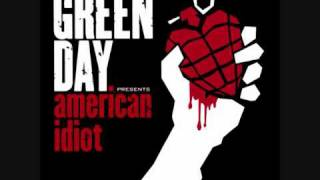 American Idiot (With Lyrics)