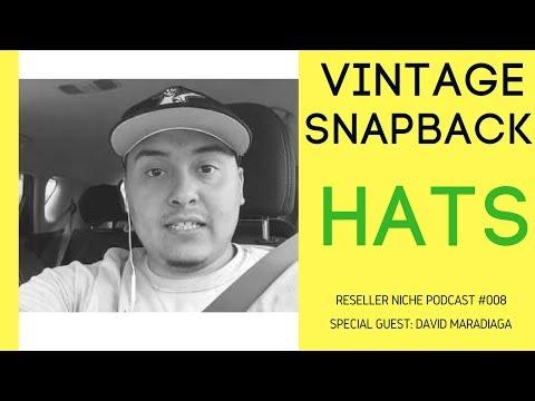 RNP008: David Maradiaga - Snapback & Vintage Hats Crashcourse