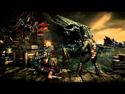 Mortal Kombat X - Reptile Gameplay Preview