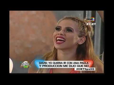 Ana Paula molesta con David porque bailó con Yenny